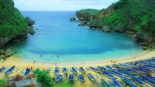 PANTAI GESING - Destinasi Baru Wisata Gunung Kidul.