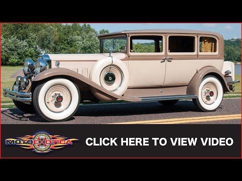 1931 Packard 845 Sedan (SOLD)
