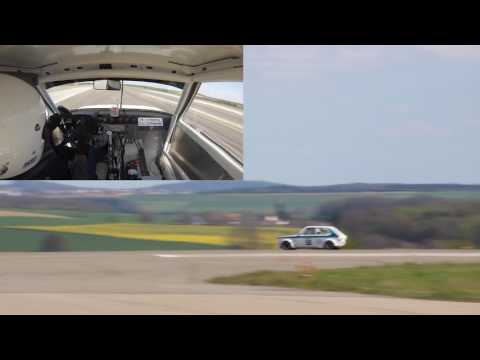 Auto Slalom / Rennslalom Zweibrücken 2017 im Audi 50GT Gruppe H