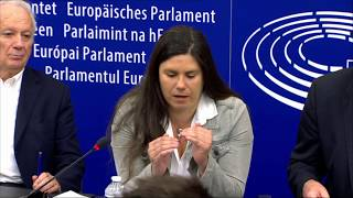 """We need fair conditions in the digital world"" - Virginie Roziére on EU Copyright Directive"
