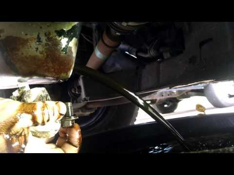 How to Flush engine sludge with kerosene