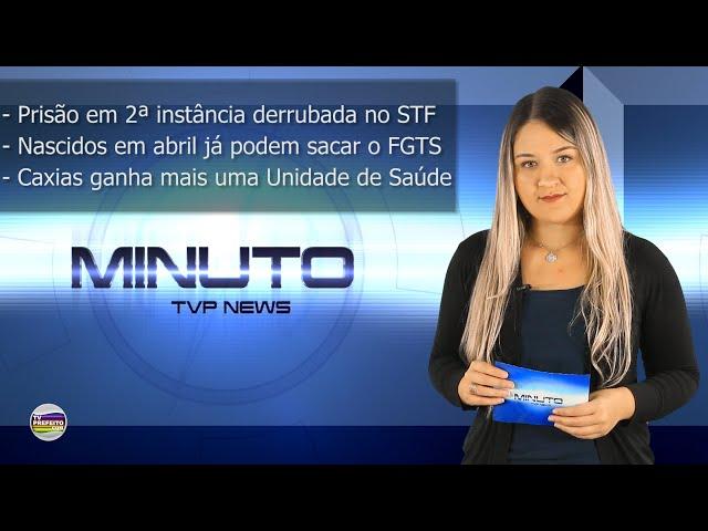 MINUTO TVP NEWS 08/11/2019