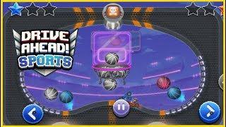 Граємо в БАСКЕТБОЛ машинками в грі Drive Ahead Sport ну як попасти в величезне кольцо