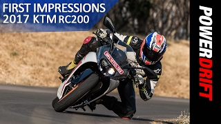 KTM RC200 (2017) : First Ride Impressions : PowerDrift