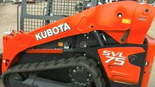Kubota SVL 75 Compact Track Loader