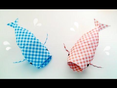 Origami -3D Fish / พับปลา 3 มิติ