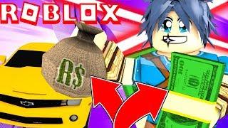 REYSON BRAQUE UNE BANQUE - GTA 5 ROBLOX (FRANCAIS) !