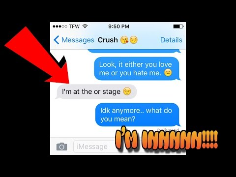 SONG LYRIC PRANK ON MY CRUSH!! (GONE RIGHT!) Justin Bieber - What Do You Mean (Sik World Cover)