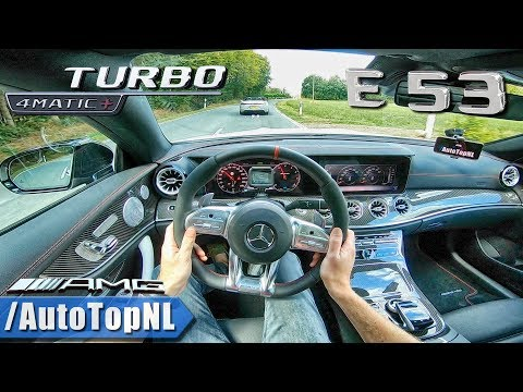 2019 Mercedes AMG E53 E CLASS Coupe 4Matic+ 3.0 i6 BiTurbo POV Test Drive by AutoTopNL