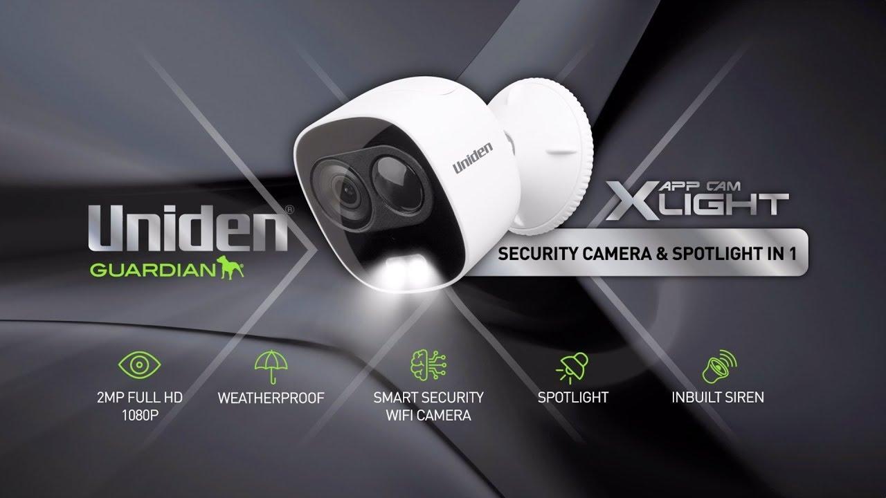 Guardian App Cam XLIGHT - Uniden