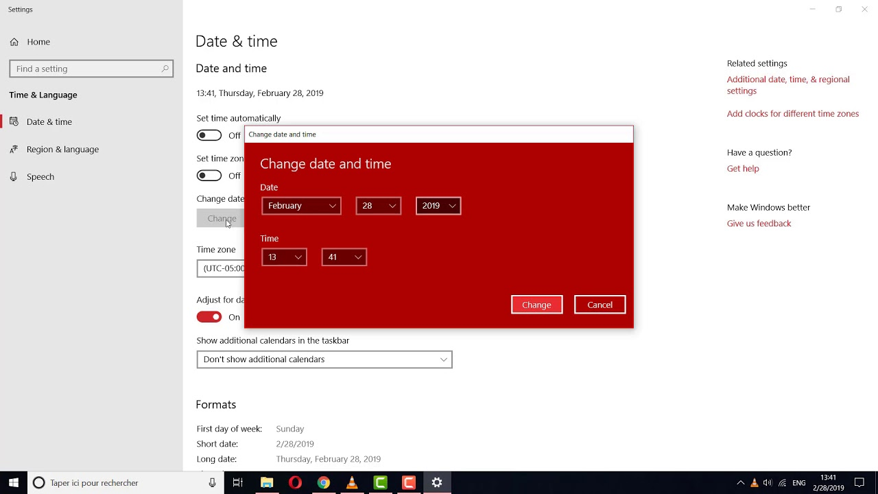 How To Fix Date And Time Are Not Showing Up In The Taskbar In