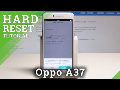 Hard Reset OPPO A37 - HardReset info