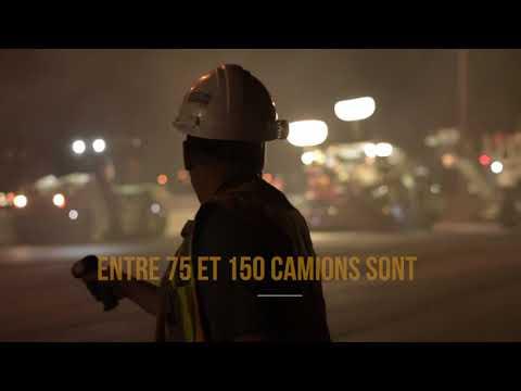 Eurovia Québec - Autoroute Félix-Leclerc