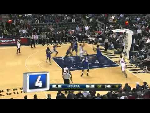 Top 10 Volcadas  - Enero 2012 - NBA