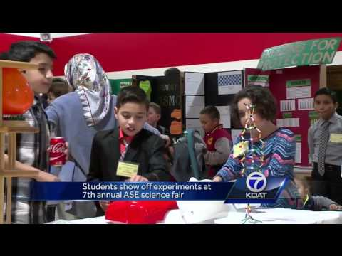 ABQ School of Excellence science fair