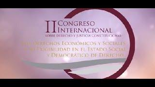 Comercial II Congreso Internacional Sobre Derecho y Justicia Constitucional 2017 Video