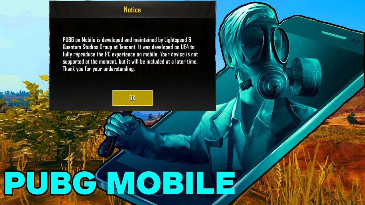 how to play pubg mobile on unsupported device