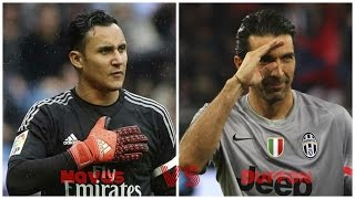 Keylor navas vs gianluigi buffon ► amazing saves 2015/16 hd