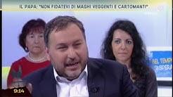 """Il Papa: """"non fidatevi di maghi, veggenti e cartomanti"""""""