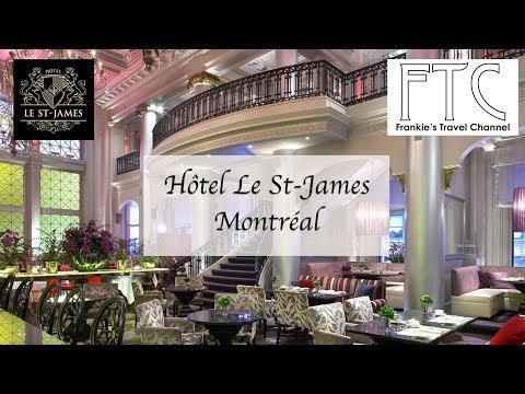 Hotel Le St-James Montreal - Deluxe Room 樂聖雅各福群會蒙特利爾酒店