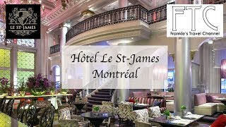 Hotel Le St-James Montreal - Deluxe Room 樂聖雅各福群會蒙特利爾酒店