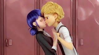 Вырезанная сцена из новой серии: поцелуй Маринетт и Адриана! Miraculous Ladybug Speededit - season 2