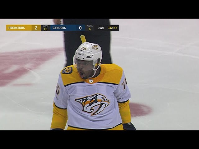 P.K. Subban pots slapper from center ice