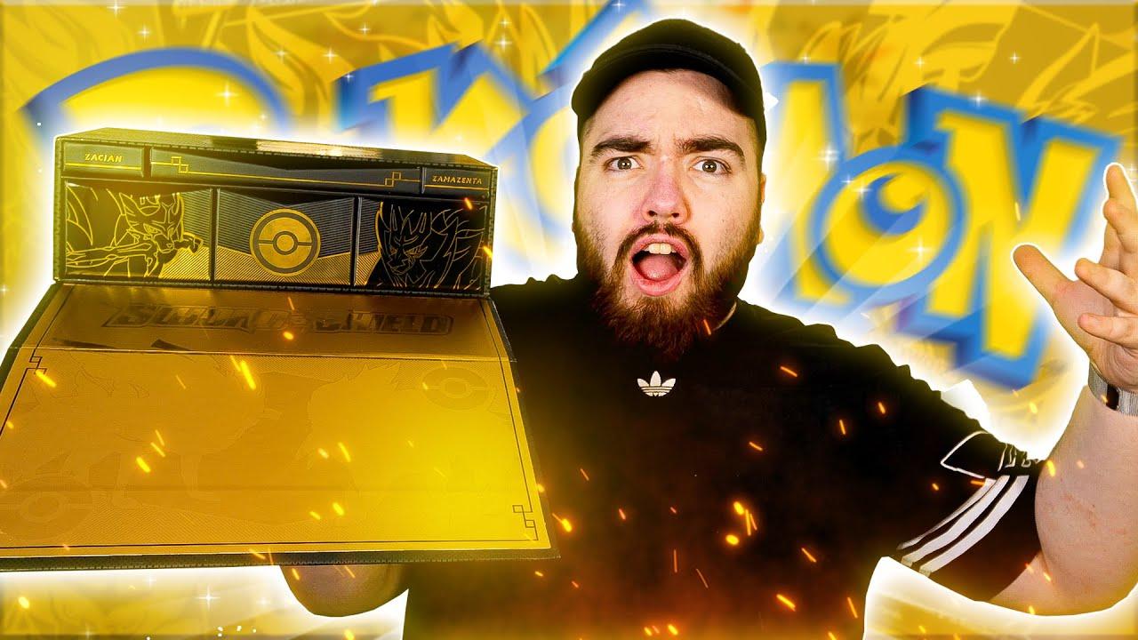 THE GOLDEN POKEMON BOX!