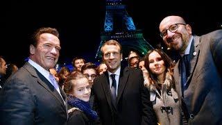 Макрон, Шварценеггер и другие обсудили в Париже изменение климата (новости)
