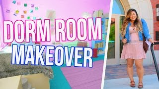 Back to College Room Makeover!!