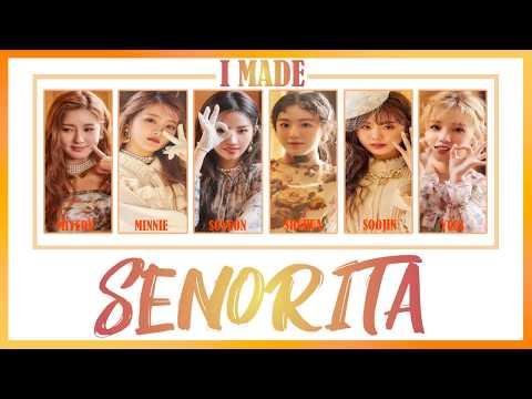 [KARAOKE/THAISUB] (G)-IDLE ((여자)아이들) - SENORITA Subthai #FIRSTTIMESub