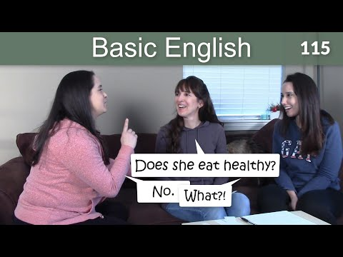 Lesson 115 ????? Conversation for Fluency - Basic English with Jennifer