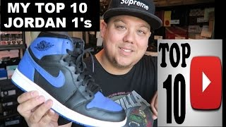 Top 10 Air Jordan 1 Sneaker's