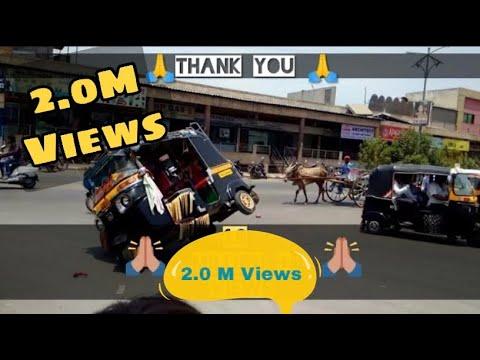 auto rickshaw modified stunt