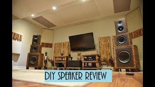 INCREDIBLE DIY speakers review & Audiophile room tour. Hegel H30 & HD30 Dac