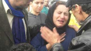 agora-presse fatiha ouatili pleure mohammed Majd .AVI