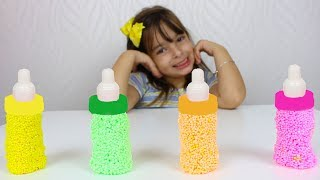 APRENDENDO CORES COM MASSINHA - LEARN COLORS WITH FOAM ON Nursery Rhymes Song for Kids Education