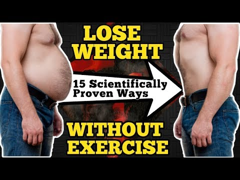 15 Simple Ways To Lose Weight Without Exercise