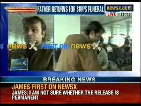 NewsX: Sunil James case - Father returns for son's funeral