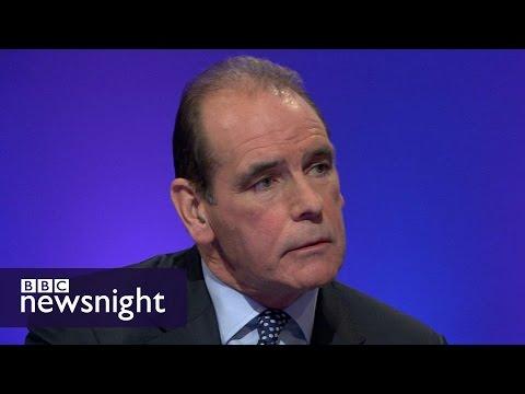 Norman Bettison defends new book Hillsborough Untold - BBC Newsnight