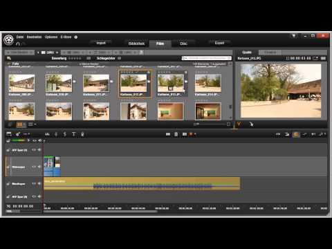 Die Timeline in Pinnacle Studio 16 und 17 Video 33 von 114