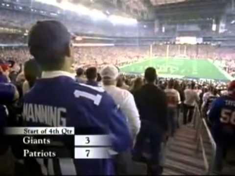 New York Giants Superbowl 2007 | Giants vs Patriots