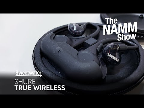 Shure True Wireless at Winter NAMM 2020
