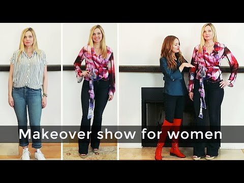 Fashion and beauty for women over 40 - makeover show - Cecelia