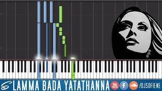 Fayrouz - Lamma Bada Yatathanna - Piano Tutorial Synthesia by DJ Sofiene