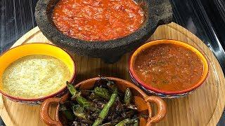 4 Salsas Mexicanas Muy Sabrosas