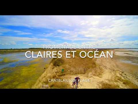 Promenade entre claires et océan à Châtelaillon Plage