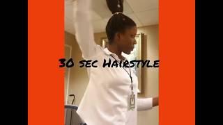 HowTo::: Style Long Box Braids in BUN