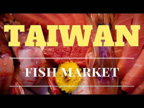 Travel Taiwan Fatty Bluefin Tuna Fish Market Live Seafood 2017