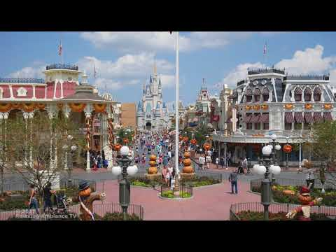 walt disney's Magic Kingdom Main Street, U.S.A. - 4k 1 hour